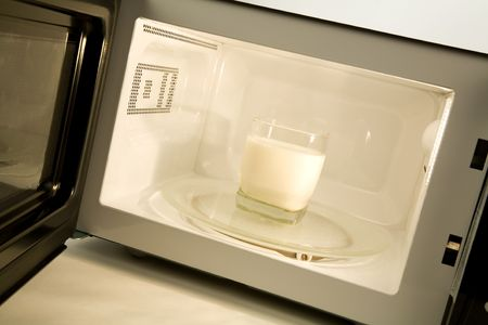 Microwave Oven close up shot Imagens - 3521496