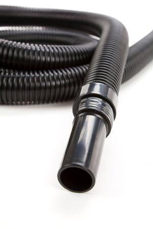 Vacuum Cleaner with Corrugated Tube 版權商用圖片