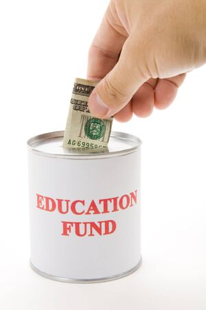 Education fund, concept of saving for college Stock Photo - 3536670