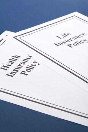 Document van het leven en de ziektekostenverzekering beleid voor achtergrond