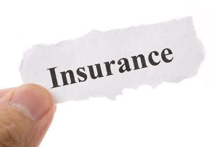 Kop van verzekeringen, Life, Health, auto, reizen, voor achtergrond