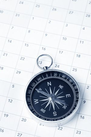 docket: Calendar and compass, concept of time planning