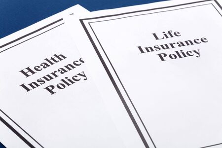 Document of Life and Health Insurance Policy for background