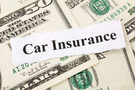 Headline of car Insurance for background