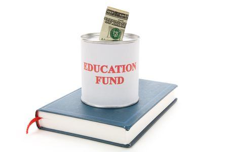 Education fund, concept of saving for college Stock Photo - 3588090