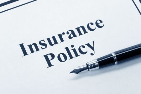 Document van verzekering, Leven, Gezondheid, auto, reizen, voor de achtergrond