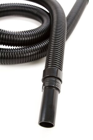 Vacuum Cleaner with Corrugated Tube Stok Fotoğraf