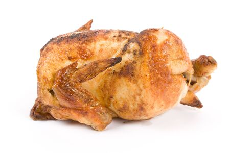 Barbecue Chicken with white background