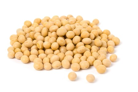 Soybean, Yellow Bean, close up for background