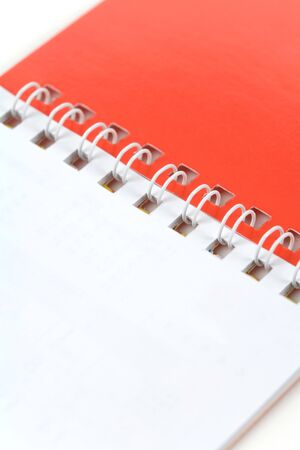 note pad: Red and White Blank Note Pad