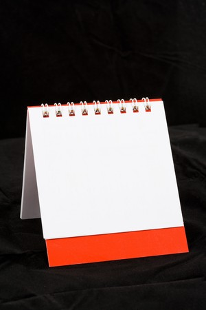 Blank Calendar close up shot photo