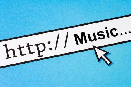 온라인 음악 검색 개념