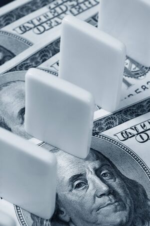 Domino and US dollar, Concept of financial issue
