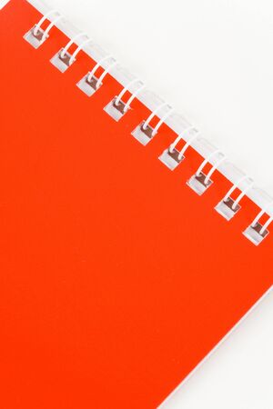 Red Note Pad close up shot