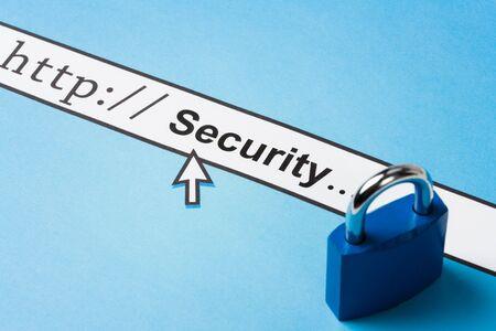 Concepto de seguridad en línea, problemas sociales Foto de archivo - 4701015