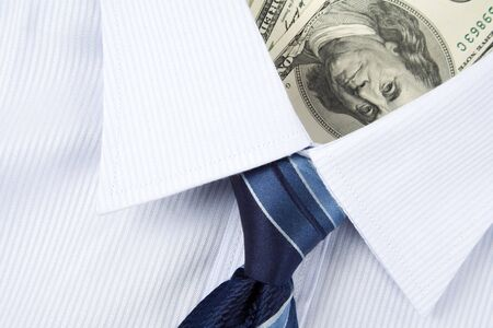 Shirt and Dollar, Business Concept