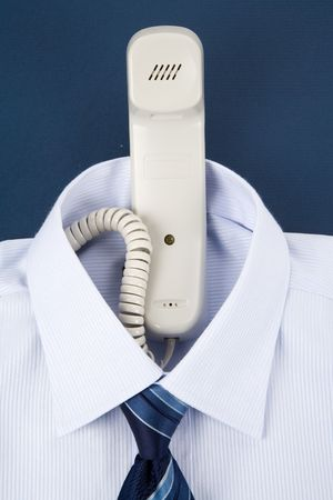Shirt and phone, Business Concept
