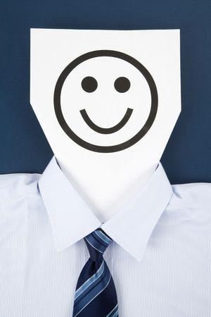 Paper Smile Face, Business Concept