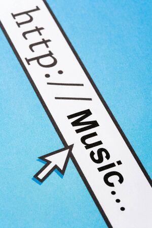 Concept of Searching Music Online