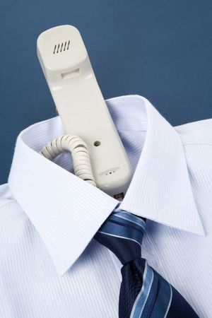 Shirt and phone, Business Concept Imagens - 5018565