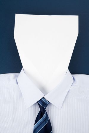 白紙の顔、ビジネスコンセプト