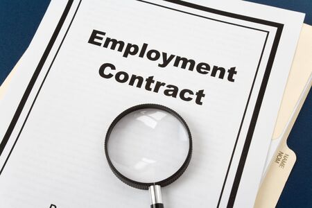 Contract Of Employment Images  Stock Pictures Royalty Free