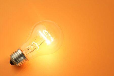Bright Light Bulb close up shot Stock Photo - 5139058