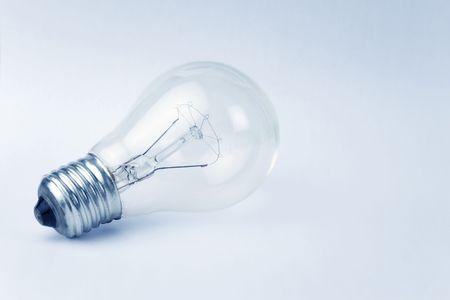 electric bulb: Light Bulb close up shot