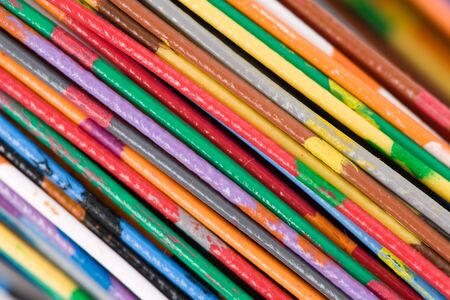 Colorful Cable, Concept of Communication, Data Line Stock Photo - 5139049