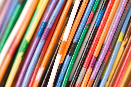 Colorful Cable, Concept of Communication, Data Line Stock Photo - 5221716