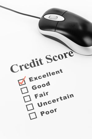 Good Credit Score, Business Concept for Background