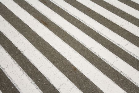 Crosswalk, zebra crossing, for background photo