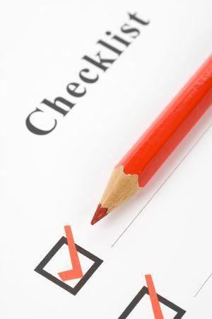 checkbox: CheckBox e Check Mark close up Archivio Fotografico