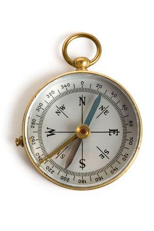 Old Compass close up shot photo
