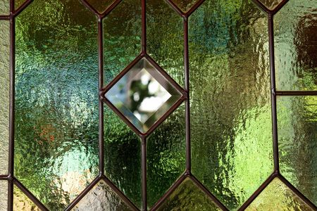 Stained Glass Window close up Stock Photo - 6525398