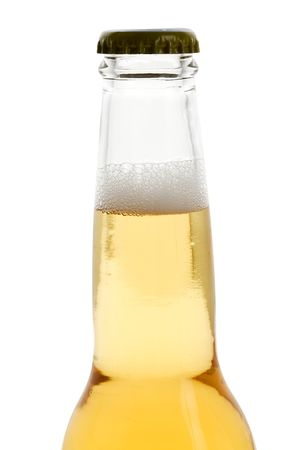 Beer Bottle with white background