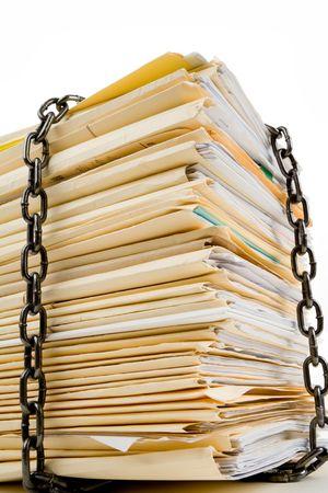 체인 및 파일 스택, 기밀 문서의 개념