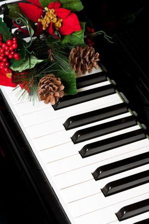 Piano Key close up shot photo