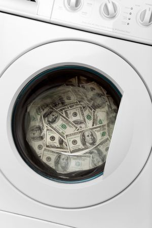 organized crime: money laundry, Organized Crime concept