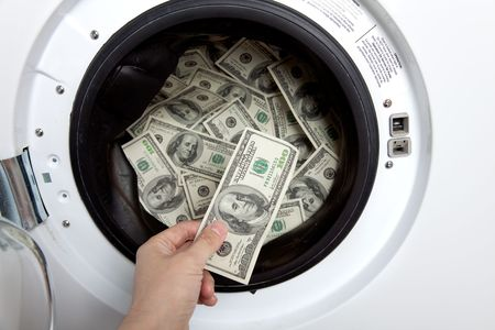money laundry, Organized Crime concept photo