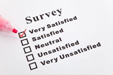 설문 조사 및 설문지, 비즈니스 컨셉 스톡 콘텐츠