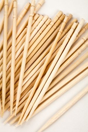 Toothpick with white background close up shot photo