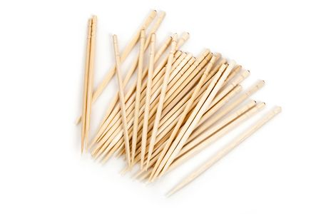toothpick: Toothpick with white background close up shot