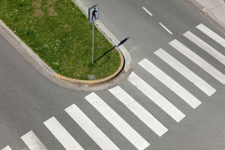 senda peatonal: Parte, Zebra Crossing para fondo  Foto de archivo