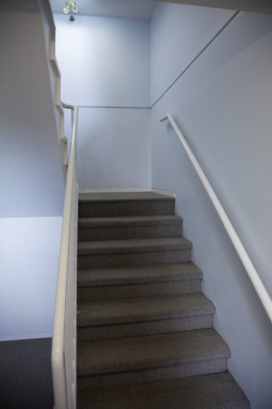 Stair in Apartment Building for background