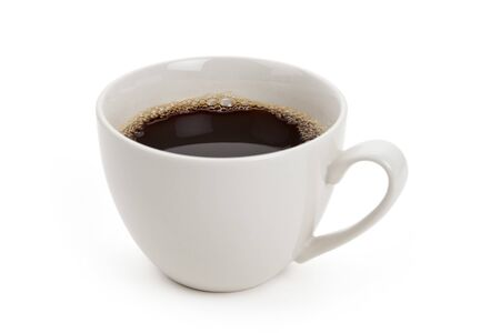 cup: Coffee cup with white background