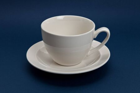 White Coffee Cup close up Stok Fotoğraf - 7175299