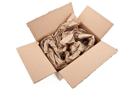 material: packing material close up shot Stock Photo