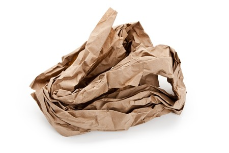 material: Brown Paper,packing material close up Stock Photo