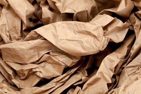 Brown Paper,packing material for background Imagens